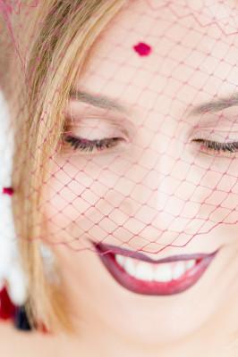 Ombre Lip Bridal Makeup Beauty by Eden Di Bianco Melissa Kruse Photography (5)