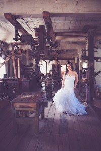 Vintage Industrial Old Mill Wedding At Slater Mill Rhode Island