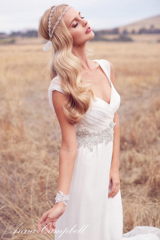 Anna Campbell Forever Entwined Newest Bridal Collection Filled With Gorgeous Wedding Dresses | Photograph by 35mm Wedding Photography  https://storyboardwedding.com/anna-campbell-forever-entwined-newest-bridal-collection/