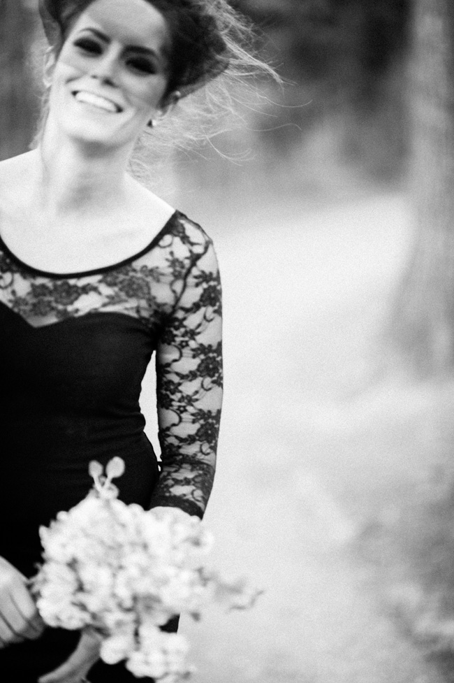 Black Friday Wedding Treat - Black Lace Wedding Inspiration | Photograph by IYQ Photography   http://storyboardwedding.com/black-friday-black-wedding-dress-inspiration/