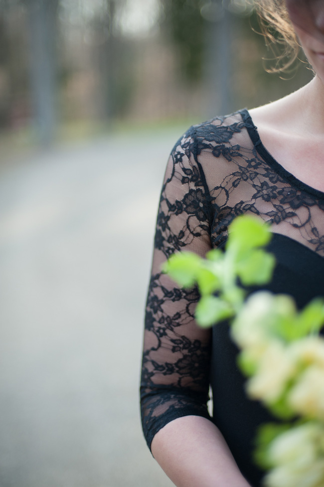 Black Friday Wedding Treat - Black Lace Wedding Inspiration | Photograph by IYQ Photography   https://storyboardwedding.com/black-friday-black-wedding-dress-inspiration/