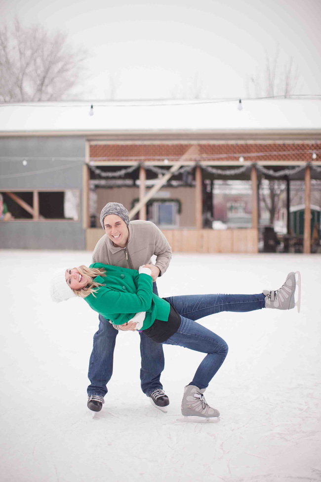 Colorado High School Sweetheart Ice Skating Engagement Session | Photograph by KB Digital Designs  http://storyboardwedding.com/colorado-high-school-sweetheart-ice-skating-engagement-session/