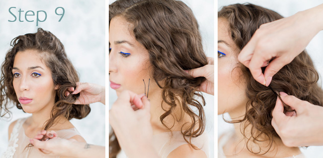 Faub Bob Tutorial Wedding Hair Melissa Kruse Photography Eden Di Bianco (10)