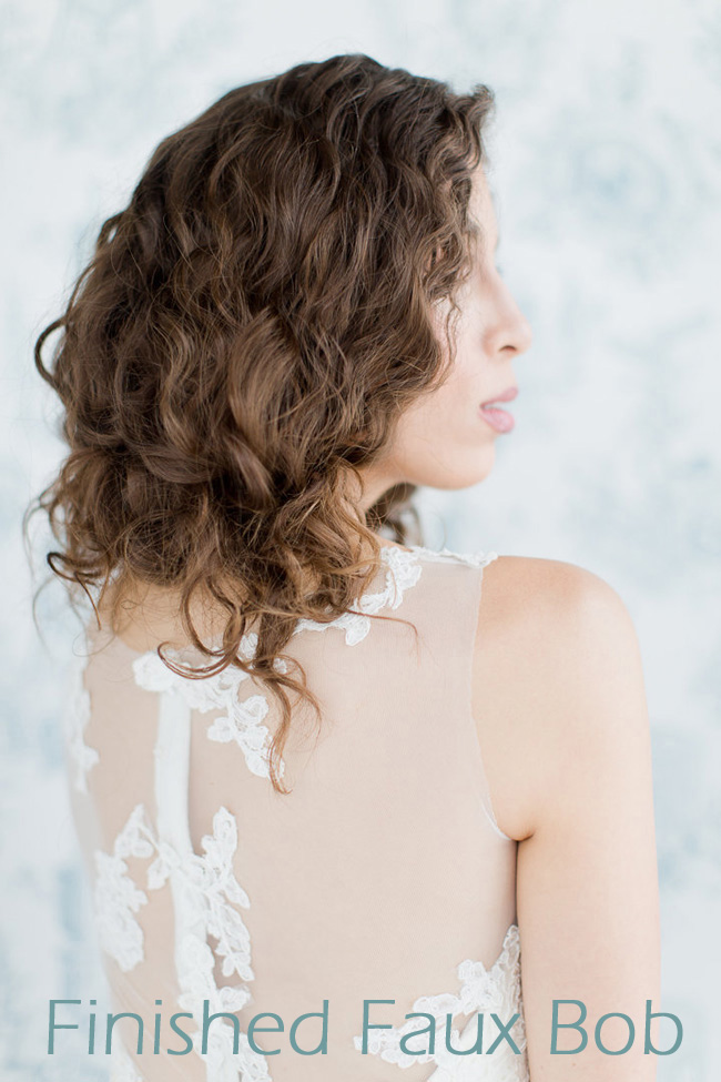Faub Bob Tutorial Wedding Hair Melissa Kruse Photography Eden Di Bianco (12)