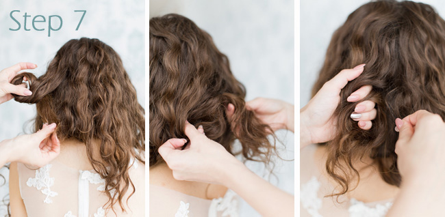 Faub Bob Tutorial Wedding Hair Melissa Kruse Photography Eden Di Bianco (8)