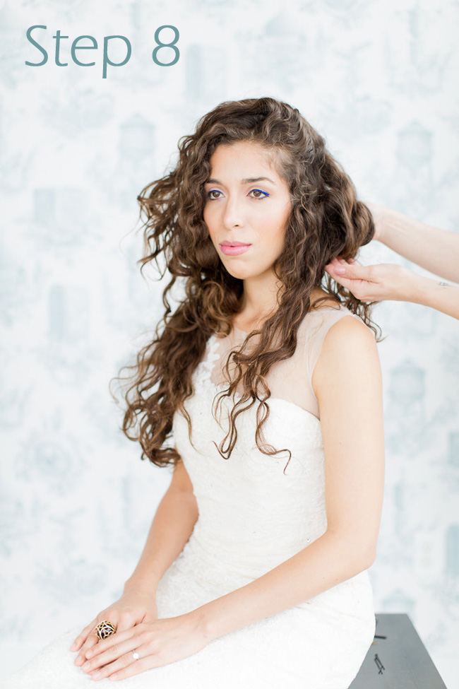 Faub Bob Tutorial Wedding Hair Melissa Kruse Photography Eden Di Bianco (9)