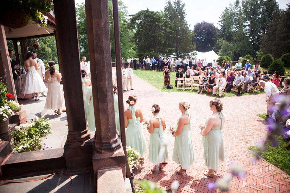 Light & Lovely Vintage Garden Wedding At The Sonnenberg Gardens New York | Photograph by Fife Photography  https://storyboardwedding.com/vintage-garden-wedding-sonnenberg-gardens-new-york/