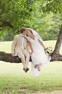 Classic Southern Wedding With A Vintage Twist At Tennessee's Spring Cr...