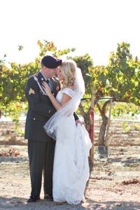 Military Elegance In A Classic Vineyard Wedding At Wiens Family Cellar...