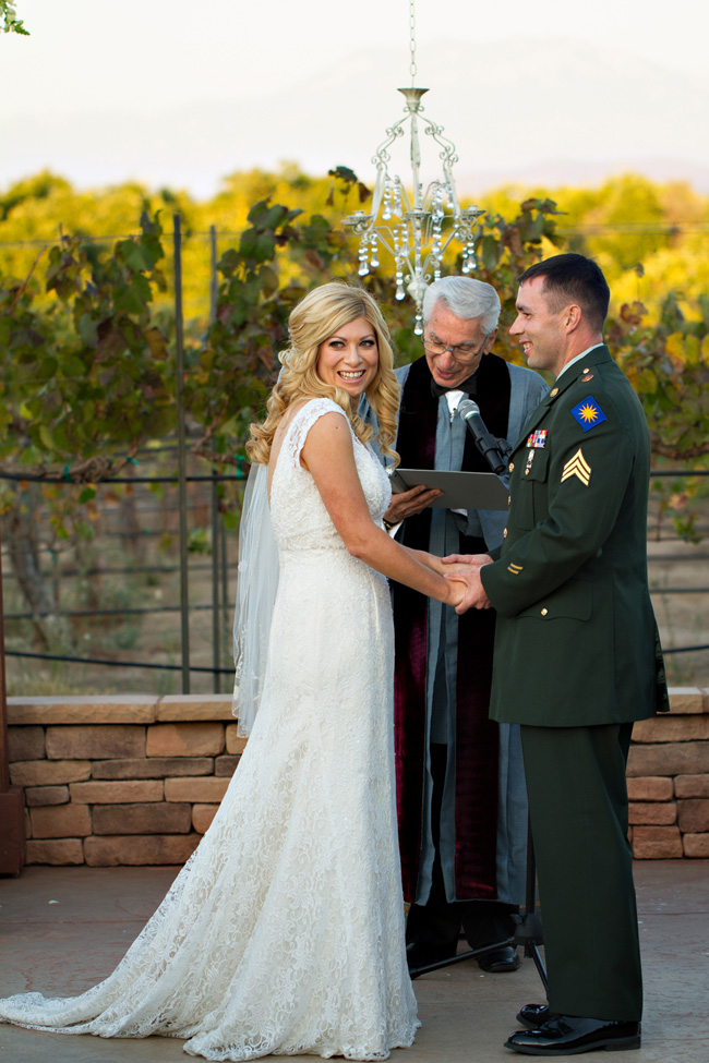 Military Elegance In A Classic Vineyard Wedding At Wiens Family Cellars | Photograph by Courtney McManaway Photography    https://storyboardwedding.com/military-vineyard-wedding-wiens-family-cellars/