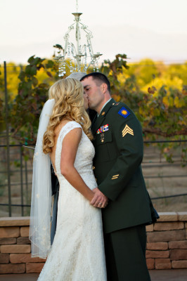 Military Elegance In A Classic Vineyard Wedding At Wiens Family Cellars | Photograph by Courtney McManaway Photography    http://storyboardwedding.com/military-vineyard-wedding-wiens-family-cellars/