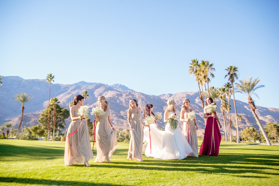 Palm Springs Desert Christmas Wedding At Indian Canyons Golf Club | Photograph by Kathleen Geiberger Art  http://storyboardwedding.com/palm-springs-desert-christmas-wedding-indian-canyons-golf-club/