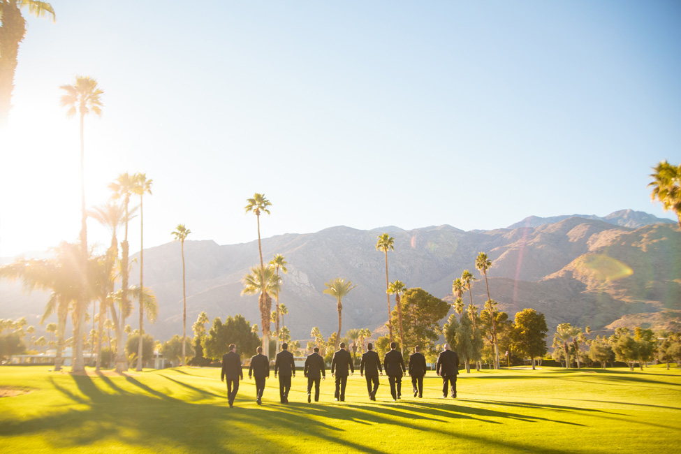 Palm Springs Desert Christmas Wedding At Indian Canyons Golf Club | Photograph by Kathleen Geiberger Art  https://storyboardwedding.com/palm-springs-desert-christmas-wedding-indian-canyons-golf-club/