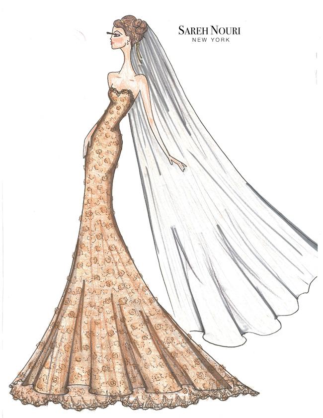 Sareh-Nouri-Fall-2015-Collection-Cleopatra-Sketch