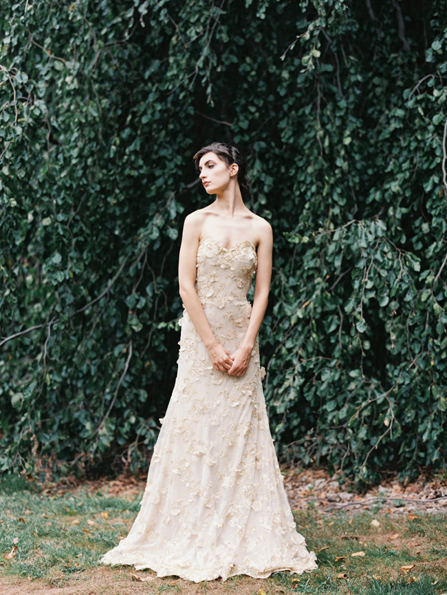 From Sketchbook to Real Life – Sareh Nouri Fall 2015 Bridal Collection