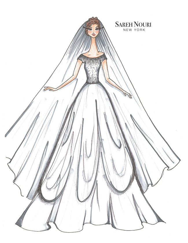 Sareh-Nouri-Fall-2015-Collection-Collette-Sketch