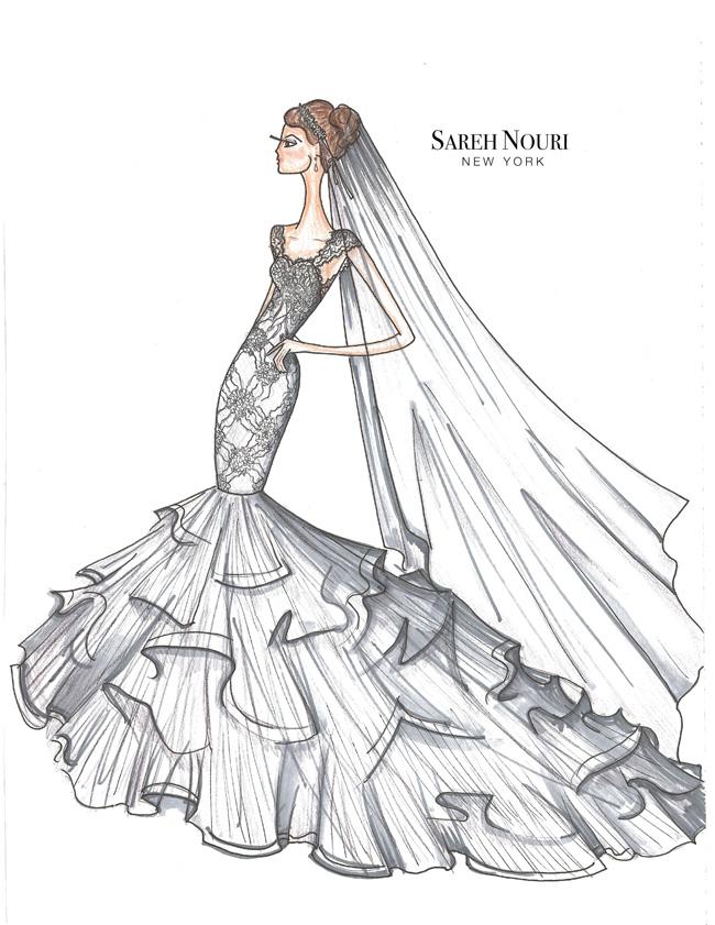 Sareh-Nouri-Fall-2015-Collection-Jacqueline-Sketch