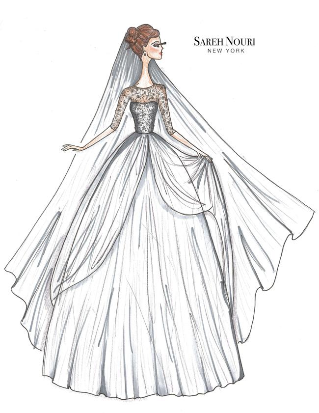 Sareh-Nouri-Fall-2015-Collection-Layla-Sketch
