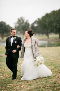 Winter Wonderland Inspired Christmas Wedding