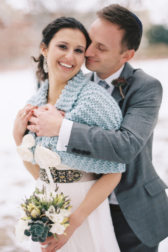 A Wintry Josephine Butler Parks Center Jewish Washington DC Wedding | Photograph by Snapshots by Katie  http://storyboardwedding.com/josephine-butler-parks-center-jewish-washington-dc-wedding/