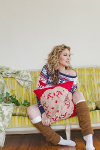 Holiday Spirit Christmas Sweater Boudoir