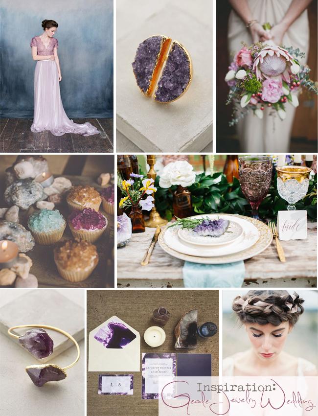 Geode Wedding Inspiration