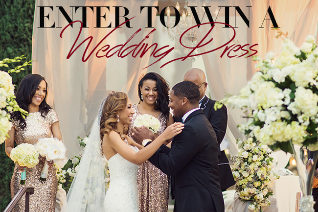 Enter the Love Is In The Air Justin Alexander Wedding Dress Giveaway and find your wedding dress soulmate!  http://storyboardwedding.com/justin-alexander-wedding-dress-giveaway/