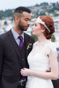 Harvest Hue Seattle Rooftop Wedding