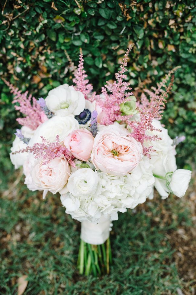 Pale Pink bouquet Photograph by Aaron and Jillian Photography