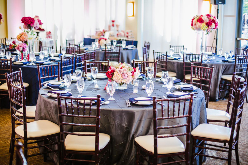 Modern Romantic Glam Wedding At Diamond Bar Center Inspired By Chandeliers | Photograph by Conrad Lim Photography