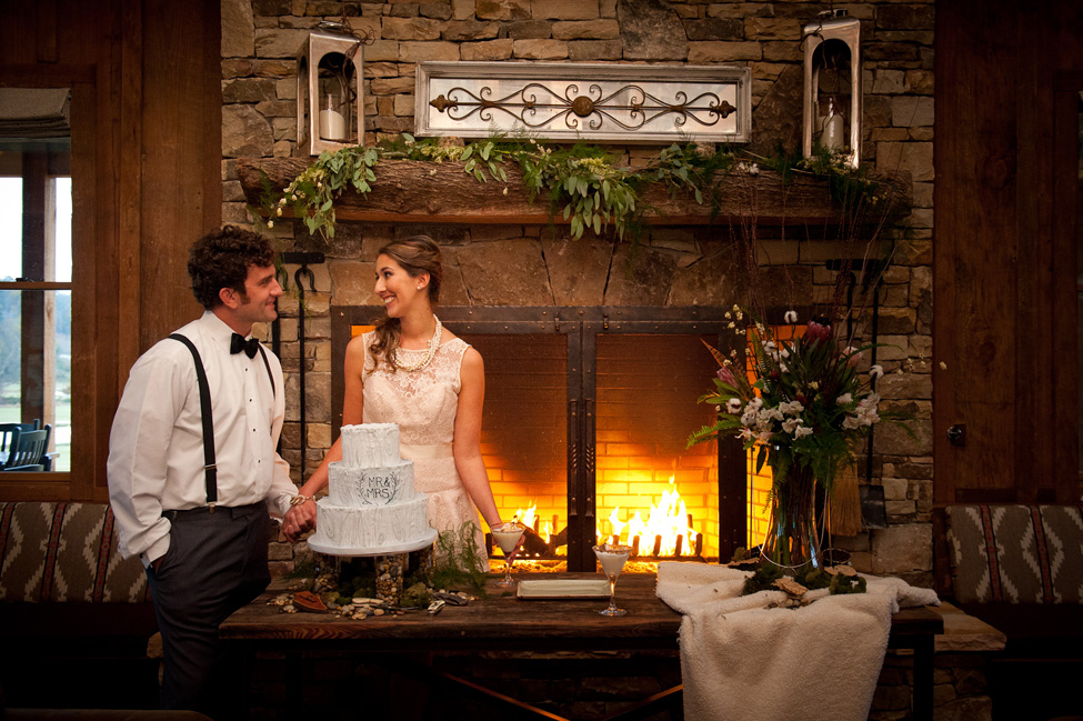 Rustic Wedding Cabin Style At Cliffs Mountain Park | Photograph by Famzing Photography  http://storyboardwedding.com/rustic-wedding-cabin-cliffs-mountain-park/