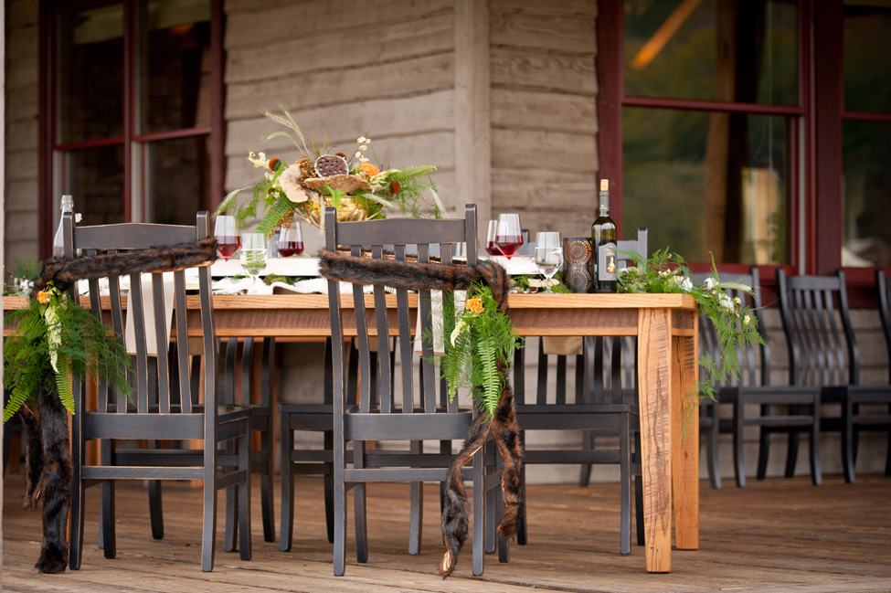Rustic Wedding Cabin Style At Cliffs Mountain Park | Photograph by Famzing Photography  https://storyboardwedding.com/rustic-wedding-cabin-cliffs-mountain-park/