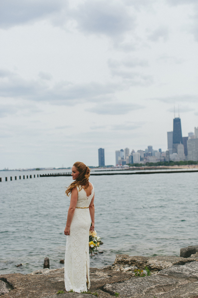 A New Leaf Chicago Wedding Nestled Inside A Florist Shop | Photograph by Megan Saul Photography