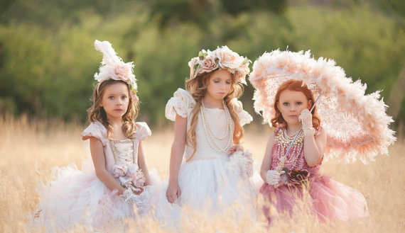 Carmen Creation Couture Princess Flower Girl Dresses