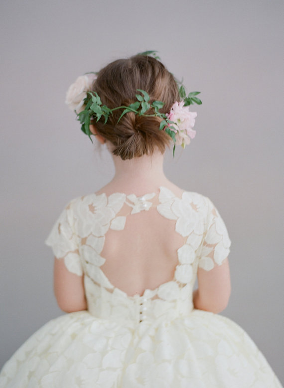 Doloris Petunia Annabelle Flower Girl Dress