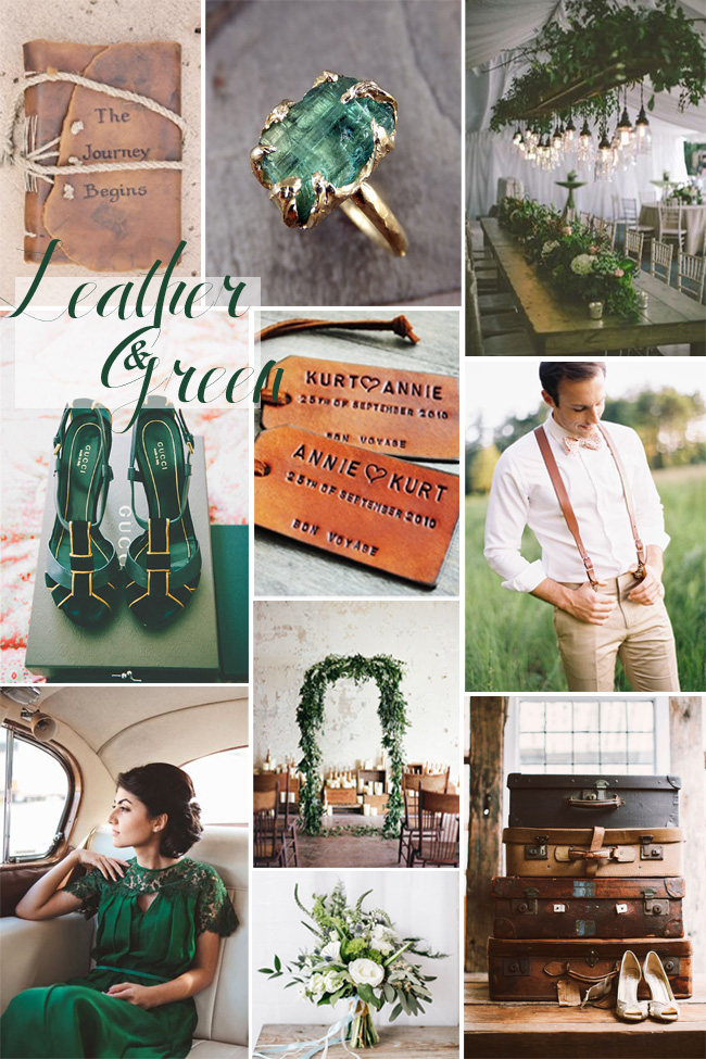 Leather-and-Green-Wedding-Inspiration
