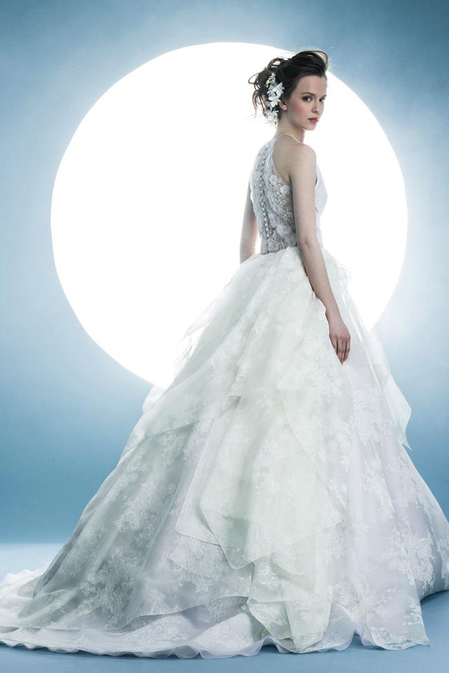 Angel Sanchez SS16 Wedding Dress Ballgown