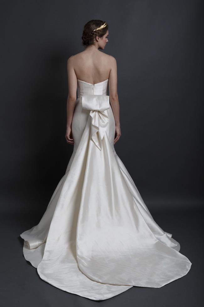Back Detail Wedding Dress Sareh Nouri Ingrid Back View