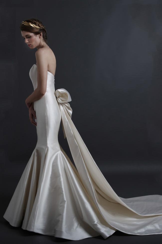 Back Detail Wedding Dress Sareh Nouri Ingrid