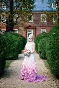Duo of Chic Bridal Looks At Historic Berkeley Plantation Wedding