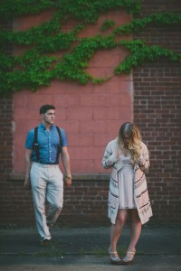Sundown Country Boho Tennessee Engagement Session