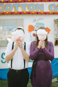 Florida Pop-Up Carnival Engagement Session With Glam Undertones