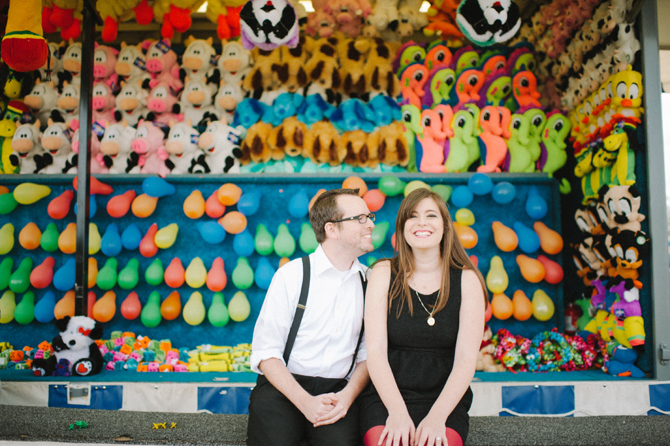 Florida Pop-Up Carnival Engagement Session With Glam Undertones | Photograph by Shea Christine Photography  https://storyboardwedding.com/florida-pop-up-carnival-engagement-session/