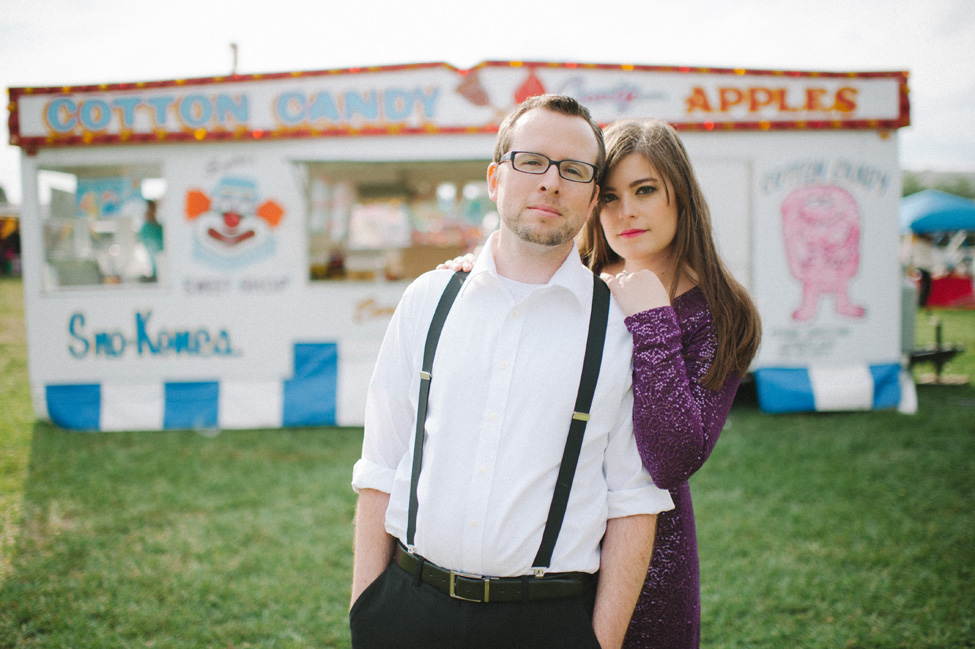 Florida Pop-Up Carnival Engagement Session With Glam Undertones | Photograph by Shea Christine Photography  http://storyboardwedding.com/florida-pop-up-carnival-engagement-session/