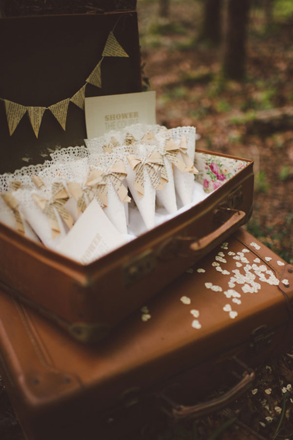 Romantic Literary Italian Woodland Wedding