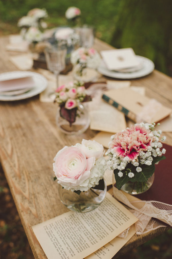 Romantic Literary Infused Italian Woodland Wedding | Photograph by Wedding City