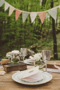 Romantic Literary Infused Italian Woodland Wedding