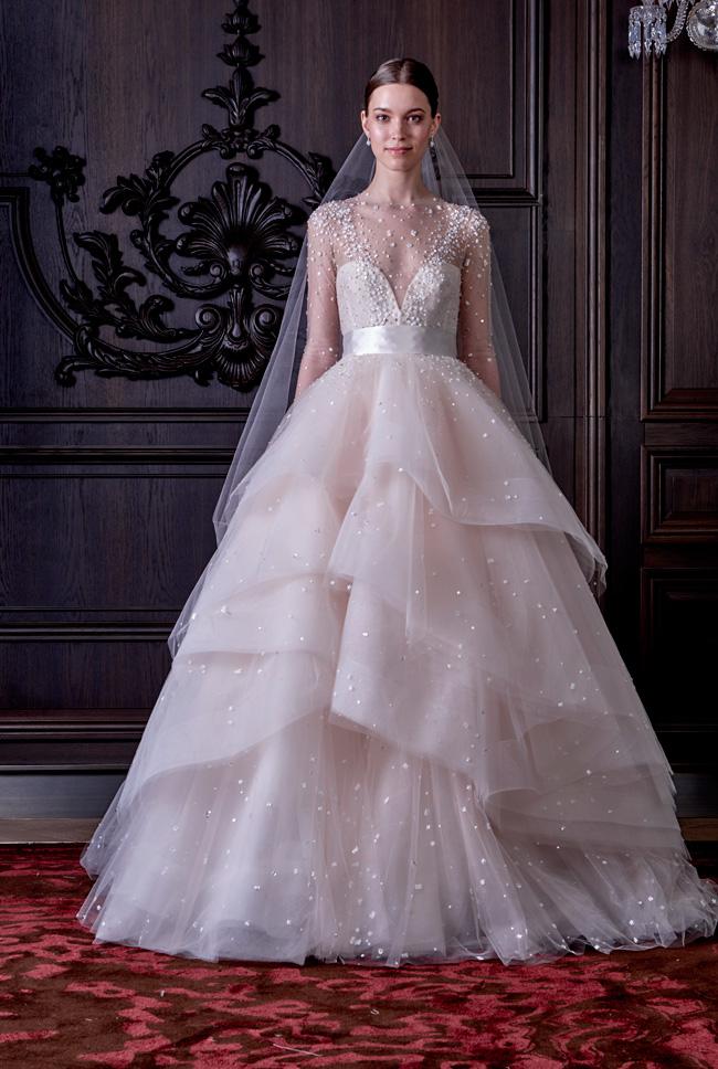 Monique Lhuillier Wedding Dress Spring Summer 2016 Bridal Collection  https://storyboardwedding.com/monique-lhuillier-wedding-dress-spring-summer-2016-bridal-collection/