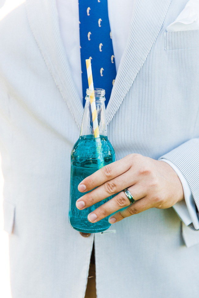 Colorful Florida Wedding At A Pop-Up Soda Shoppe | Photograph by NikkiMayDay Photography