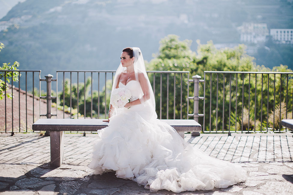 Gorgeous Tented Italian Wedding Along The Amalfi Coast At Villa Eva | Photograph by Gianni di Natale Photographer  http://storyboardwedding.com/tented-italian-wedding-amalfi-coast-villa-eva/